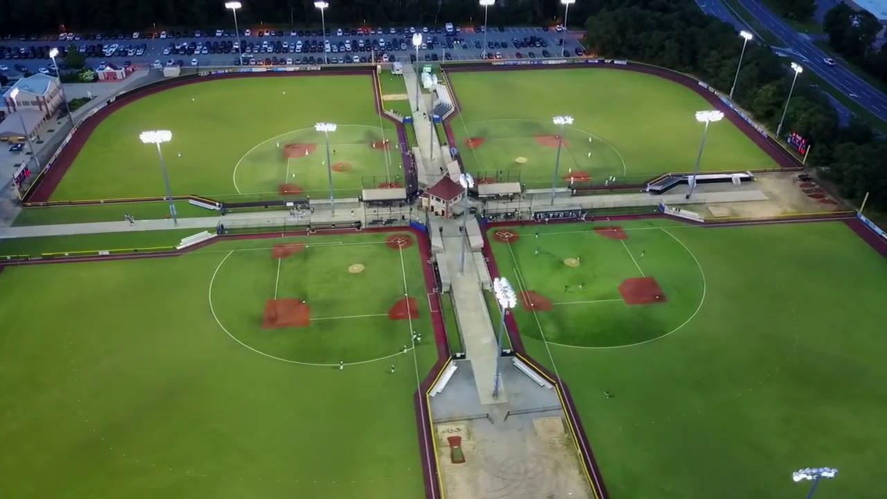 baseball heaven aerial tour youtube