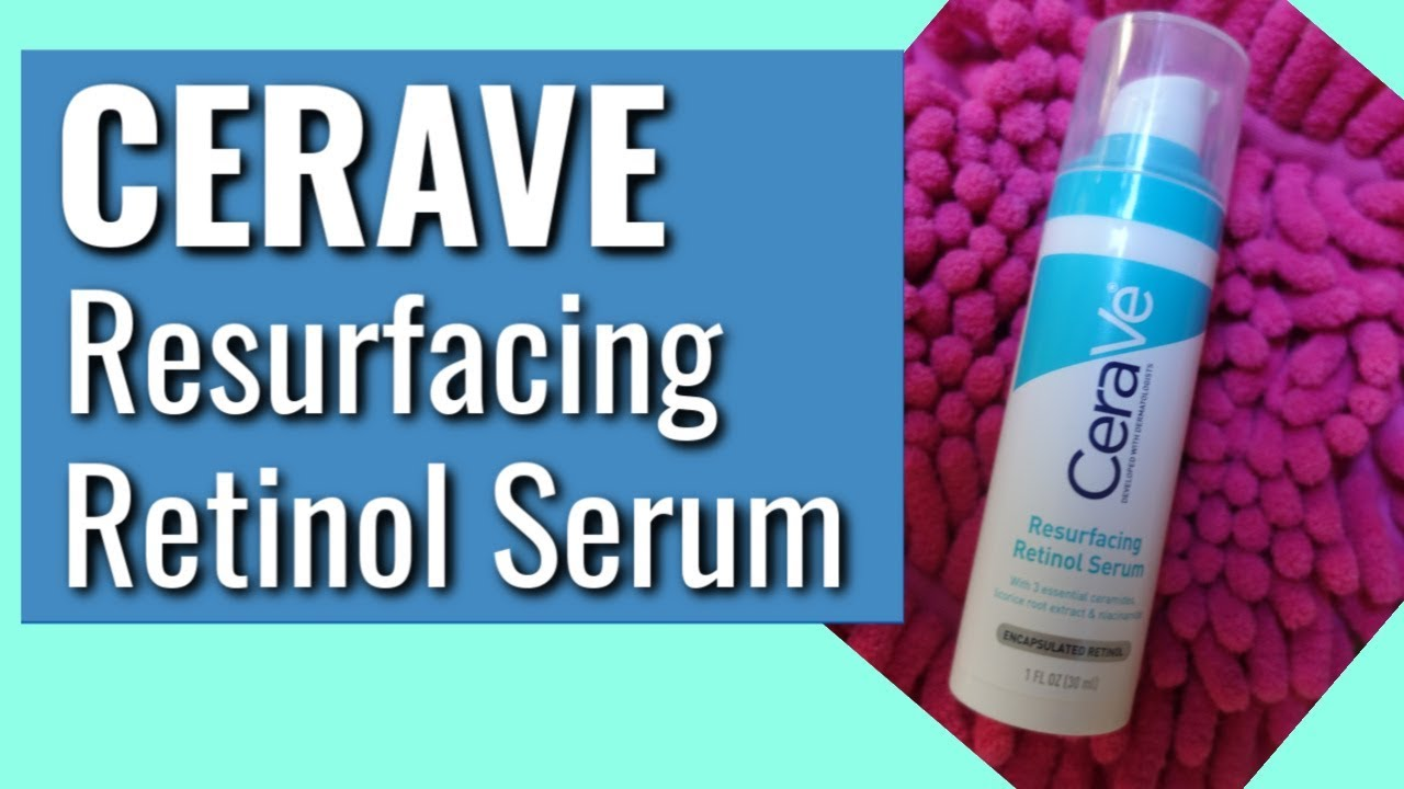 Retinol Face Serum For Post Acne Marks By Cerave