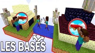 LES MEILLEURES BASES SÉCURISÉES ?!   Minecraft Bed Wars Capture