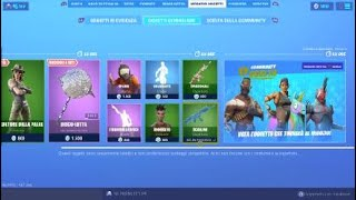 SHOP FORTNITE ITA NEW SKIN PREDATOR OF PALUDE!! ON TODAY'S SHOP SEPTEMBER 13TH ITEM SHOP TODA