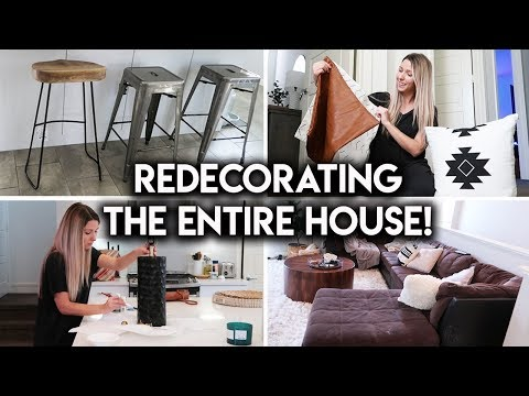 REDECORATING MY HOUSE | NEW FURNITURE + DIY DECOR IDEAS
