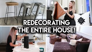 REDECORATING MY HOUSE | NEW FU…