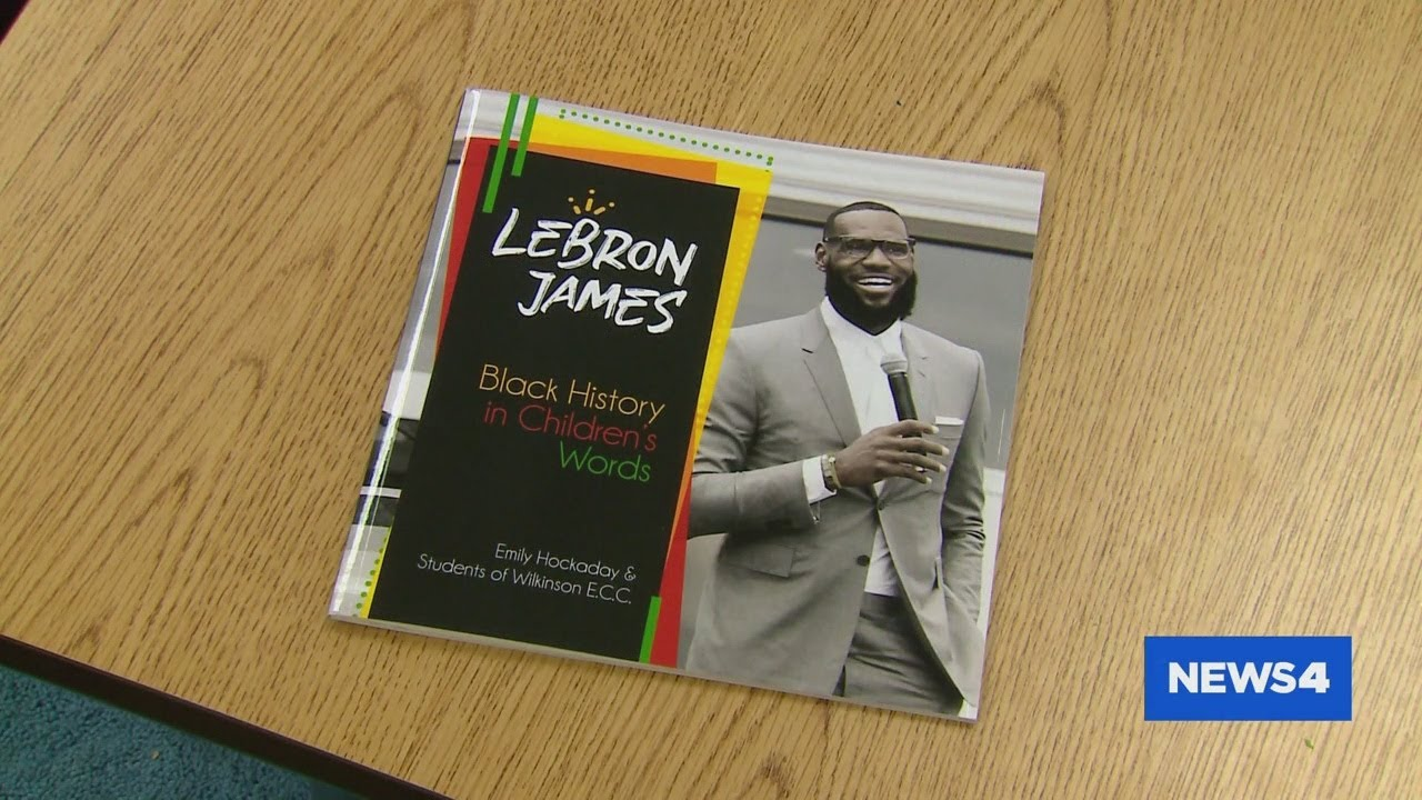 St. Louis Students Write And Publish Book About LeBron James For Black History Month [VIDEO]