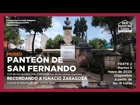 Conoce el Museo Panteón de San Fernando. Parte 2