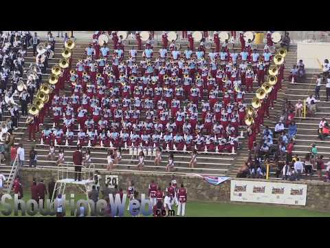 Talladega College vs Jackson State - Queen City BOTB QCBOTB 2017