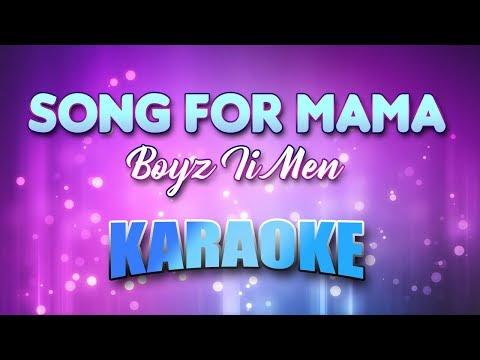 Boyz Ii Men - Song For Mama (Karaoke & Lyrics)