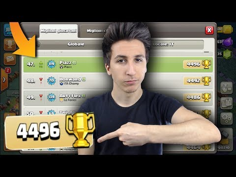 4500 COPPE, BH6 MAXATI e 40° in ITALIA! | Clash of Clans ITA