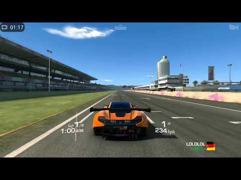 Real Racing 3 Mclaren 650S GT3