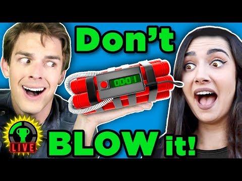 Having a BLAST with Safiya & Tyler | Keep Talking & Nobody Explodes (Game Theory Charity Livestream)