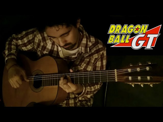 Dragon Ball GT on Classical Guitar (Dan Dan Kokoro Hikareteku) by Luciano Renan