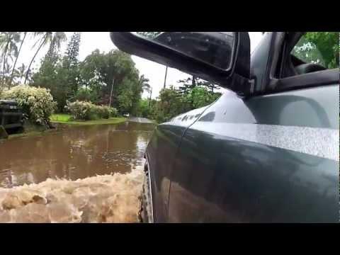 Flood 2012 in Haena, Kauai, Hawaii.mov