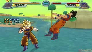 [TAS] DBZ Infinite World - Goku vs Goku (Requested Match)