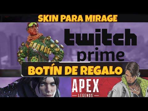 Skin De Regalo Encantador De La Suerte XD Para Mirage En Apex Legends