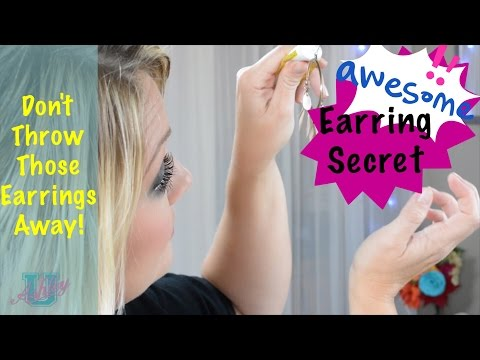 101: How To Stop Your Ears From Hurting When Your Ears Have Become Sensitive to Wearing Earrings