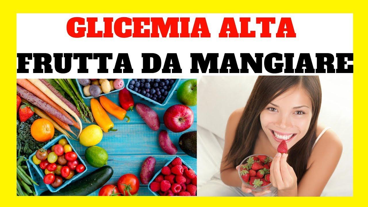 dieta per glicemia alta al mattino