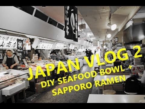 DIY Seafood Bowl at Aomori | Aomori Hokkaido Travel Guide