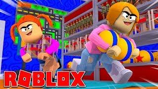 Roblox | Roubando a loja de brinquedos | 2 o jogador