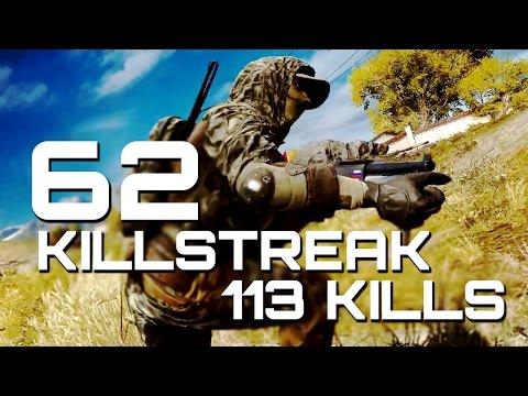 Battlefield 4: 62 Killstreak - 113 Kills MVP | TheBrokenMachine