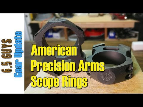 Gear Update -  053 American Precision Arms Scope Rings