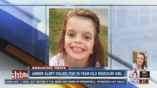 AMBER Alert issued for Springfield, Mo., 10-year-old
