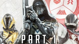 Destiny 2 walkthrough gameplay part 1 - titan (ps4 pro)