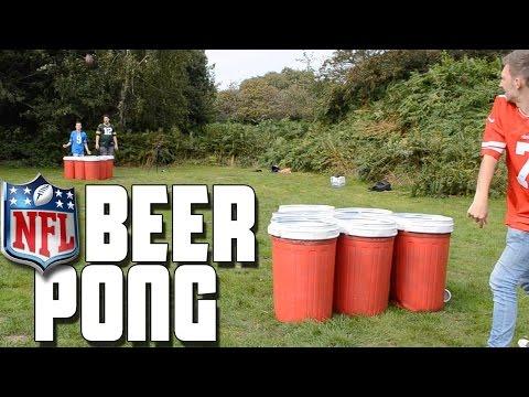 NFL Beer Pong | WheresMyChallenge