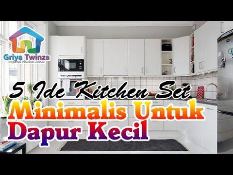 Punya Rumah Mungil? Ini Ide Kitchen Set Minimalis untuk Dapur Kecil!