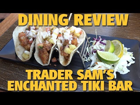 Trader Sam's Enchanted Tiki Bar Dining Review | Disneyland Hotel