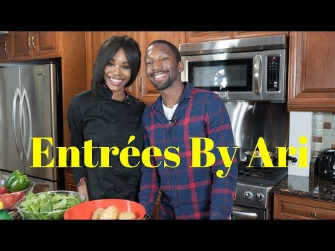 Cooking with Entrees By Ari + Entrepreneurship as a Black Woman