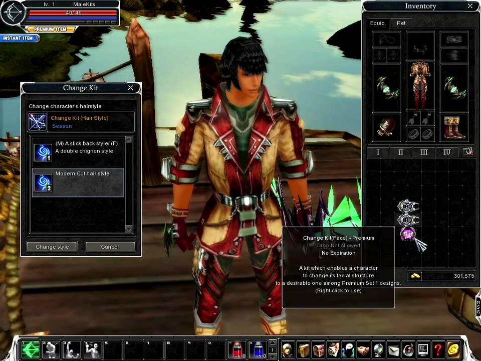 Online Hair Style: Cabal Online Male Change Kit HairStyle And Face PREMIUM