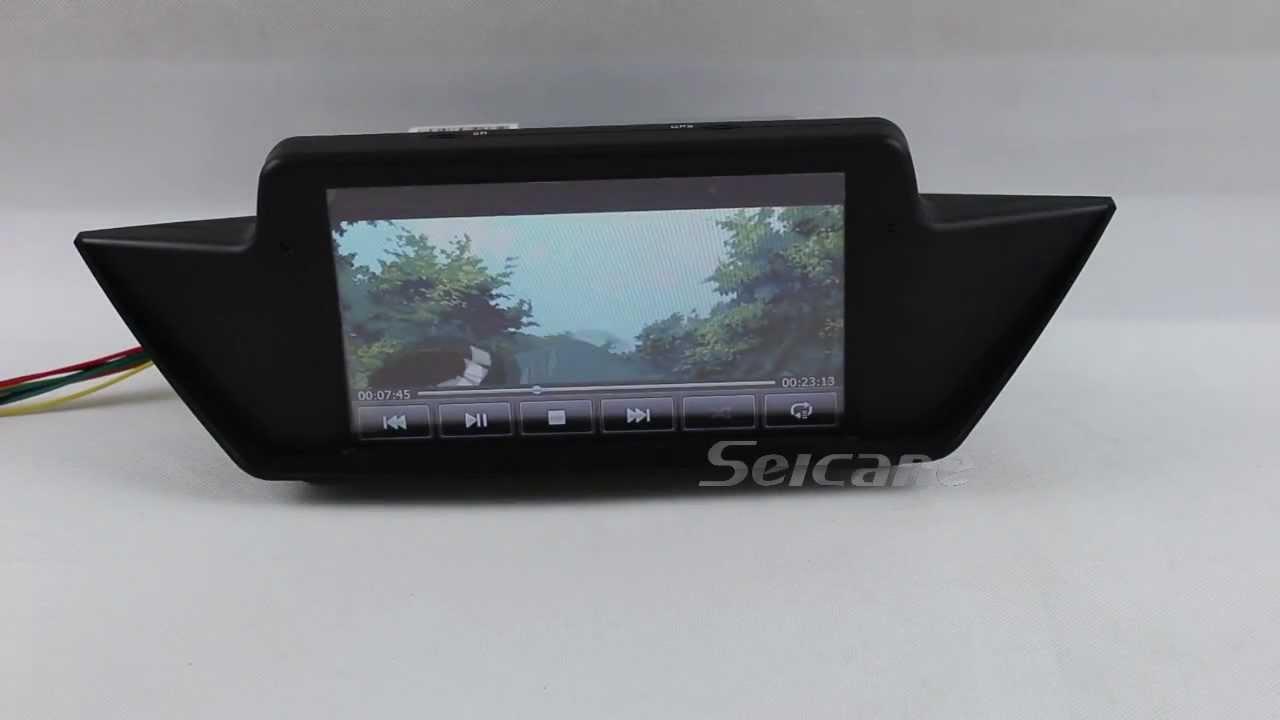 Bmw X1 E84 Aftermarket Dvd Radio Gps Navigation System