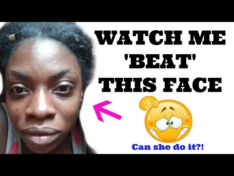 After Watching HUNDREDS Of MAKEUP TUTORIAL For DARK SKIN WOMEN And BEGINNER MAKEUP ..GRWM
