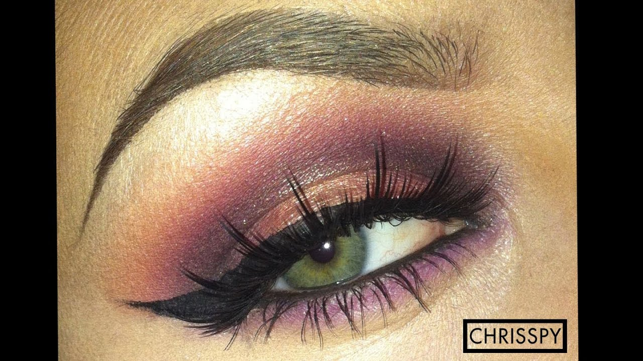 Purple gold sultry eyeshadow tutorial youtube ccuart Choice Image