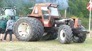 PULLING FAILS | Some of The Biggest Tractor Pulling Fails & Failures During Danish Tractor Pulling