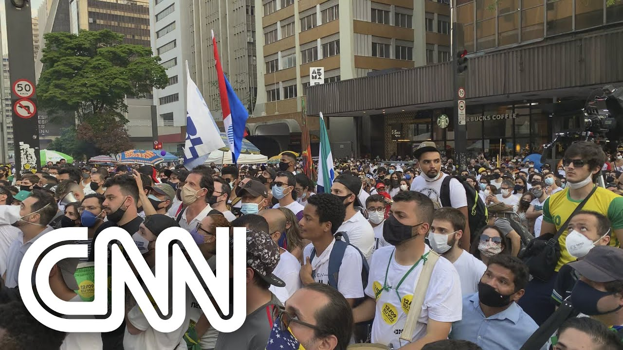 Download Ato contra Bolsonaro reúne Ciro Gomes, Doria, Mandetta e Amôedo em SP | CNN Domingo