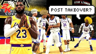 I took my LEGEND LEBRON JAMES BUILD to a COMP PRO AM LEAGUE in NBA 2K20 (Ep. 2)