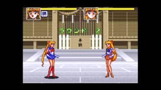 SFC『美少女戦士セーラームーンR』たいせんモード.04