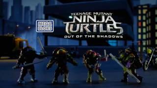 Черепашки Ниндзя  Mega Bloks TMNT Серия Out of the Shadows