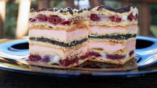 Обалденный Торт Ппляцок САКУРА с Необычным кремом Красиво Оригинально Вкусно