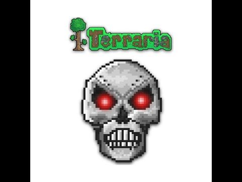 Terraria Ep7: Attack of the skelly bones
