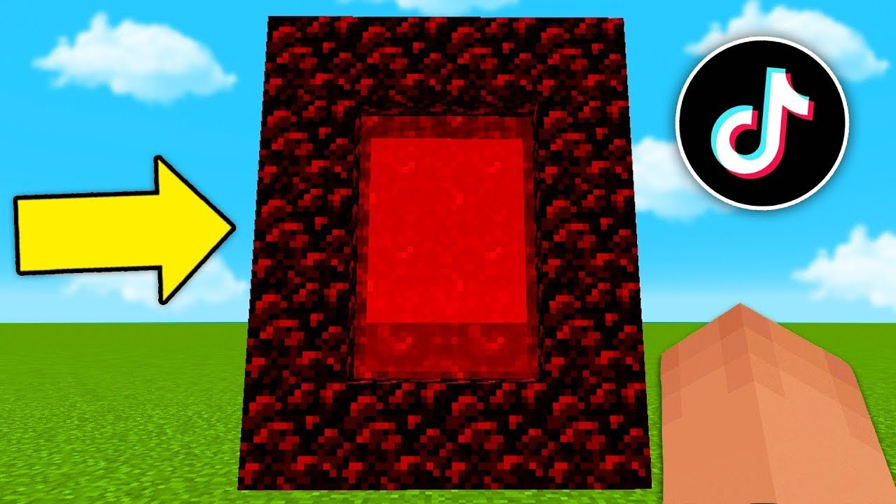 MINECRAFT BUT THERE ARE NEW PORTALS !!