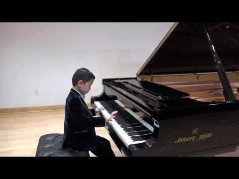Henry Li (10) won 1st Place & Judges Distinction Award at 2017 American Protégé !Mozart.