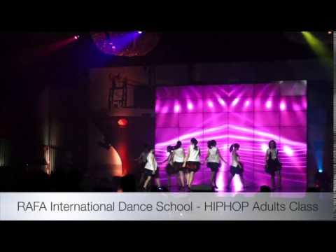 RIDS Hiphop dance at Freight Express at Grand Ballroom Hotel Mulia