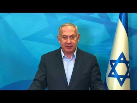 Benjamin Netanyahu 'heartbroken' by synagogue shooting