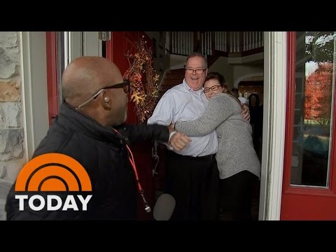 Bobby Flay Al Roker Make One Mans Thanksgiving Dream Come True