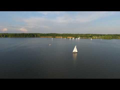 Sailing at Hoover