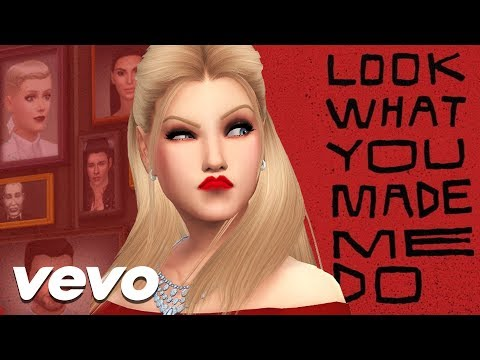 TAYLOR SWIFT - LOOK WHAT YOU MADE | SIMS 4 MACHINIMA