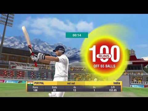 World Cricket Championship 2WCC2 GameplayTest Match Century