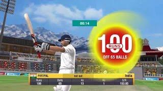 World Cricket Championship 2(WCC2) Gameplay-Test Match Century