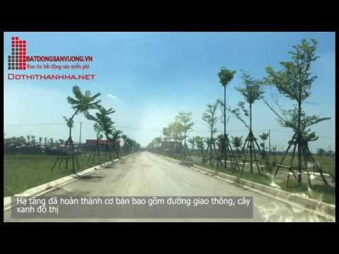 Giới thiệu và tiến độ khu đô thị Thanh Hà Mường Thanh – Cienco5 Land tháng 7-2016